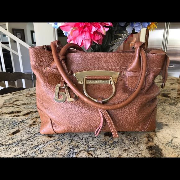 Handbags - Authentic DOLCE and GABBANA pebbled bag